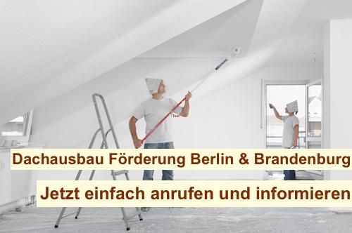 Dachausbau Förderung Berlin